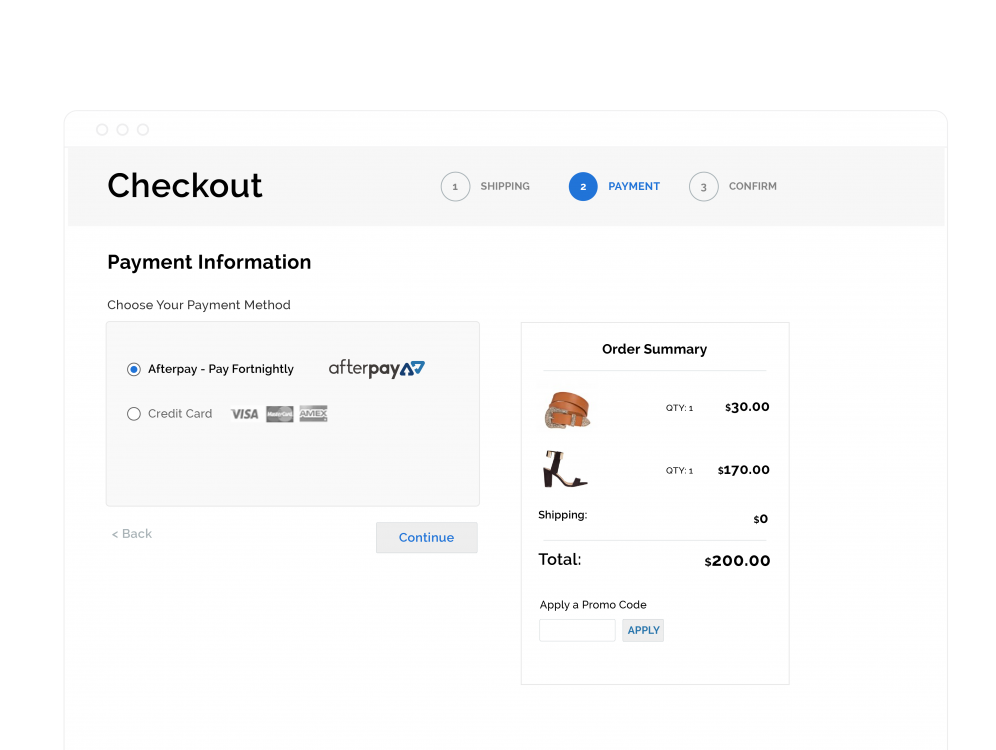 Checkout merchant